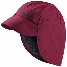 Кепка TEXAPORE RAINY DAY HAT KIDS	dark ruby